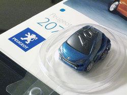 Peugeot 207のミニカー